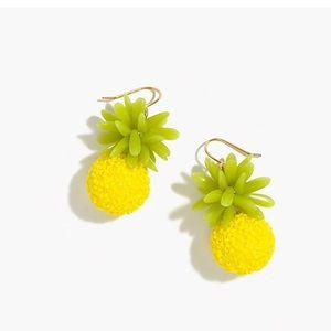Jcrew Beaded Pineapple 🍍 Earrings